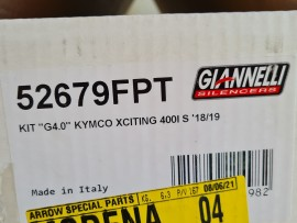 KYMCO XCITING 400i S 2019-2021SCARICO GIANNELLI