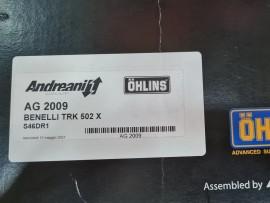 BENELLI TRK502X MONO OHLINS S46DR1